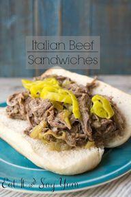 Italian Beef Sandwic