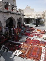 arcade at Souq Waqif