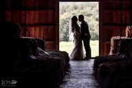 A rustic wedding. Wh