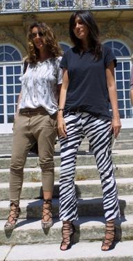 Emmanuelle Alt and M