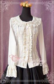 cotton lace shirt -