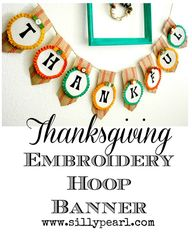 Thanksgiving Embroid