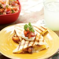 Shrimp Quesadillas w
