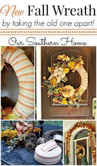 Fall Wreath Re-Do