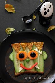 Frankenstein sandwic
