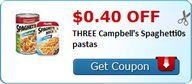 $0.40 off THREE Camp