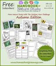 FREE Autumn Handbook