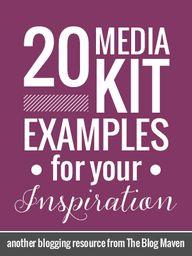 20 media kit example