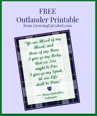 Free Outlander Print