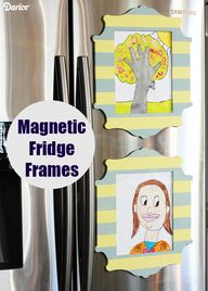 DIY Fridge Decor: Ma