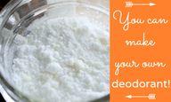 A 2-Ingredient Deodo