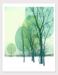 Tree Print Graphic a