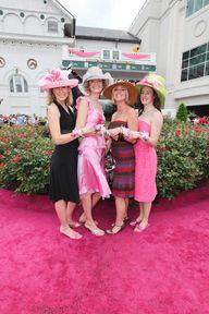 Kentucky Derby:  Betting, Bourbon.  Belles.