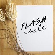 FLASH SALE! Take 15%