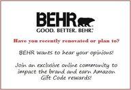 BEHR - new online co