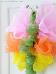 DIY Deco Mesh Butter