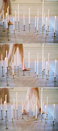 candles via oncewed.