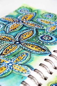Beautiful sketchbook...
