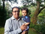 Dad with Arjun