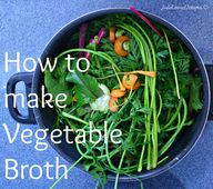 How to Make Vegetabl