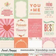 Memorable: Friendshi