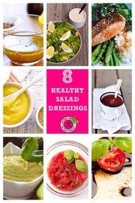 8 Healthy Salad Dres