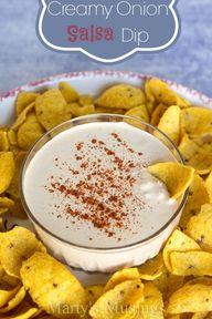 Creamy Onion Salsa D