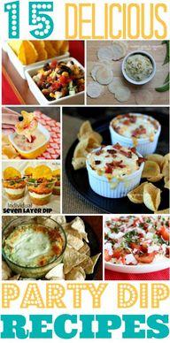 Party Recipes: 15 De
