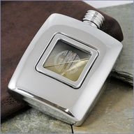 Personalized Groomsmen Hip Flask