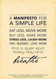 A Manifesto for a Si