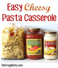Easy Cheesy Pasta Ca