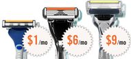 Men's Razors, Buy Ra