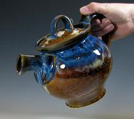 Teapot by Hughes Pot...
