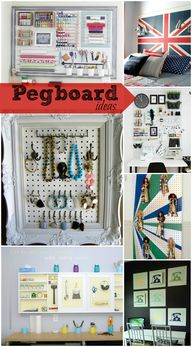 Pegboard isn't just