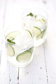 Cucumber, Lime and M