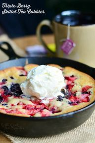 Triple Berry Skillet
