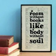 """a room without book"