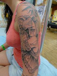 Léa Nahon - Tattoos