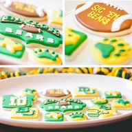 Custom #Baylor cooki