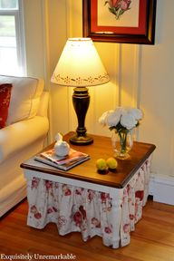 Easy Skirted Table T
