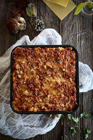 lasagna with pastrou