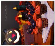 Halloween cupcakes a