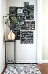 Bible verses decorat