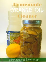 Homemade Cleaners::