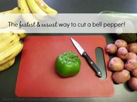 How to Cut a Bell Pe