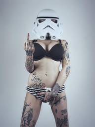 Stormtrooper with at