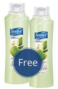 Free Suave Shampoo a