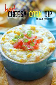Hot Cheesy Corn Dip
