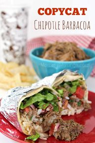 Copycat Chipotle Bar
