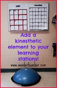 kinesthetic learning